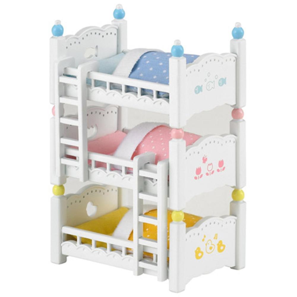 실바니안패밀리 인형 4448 아기들의 3층 침대, 1개