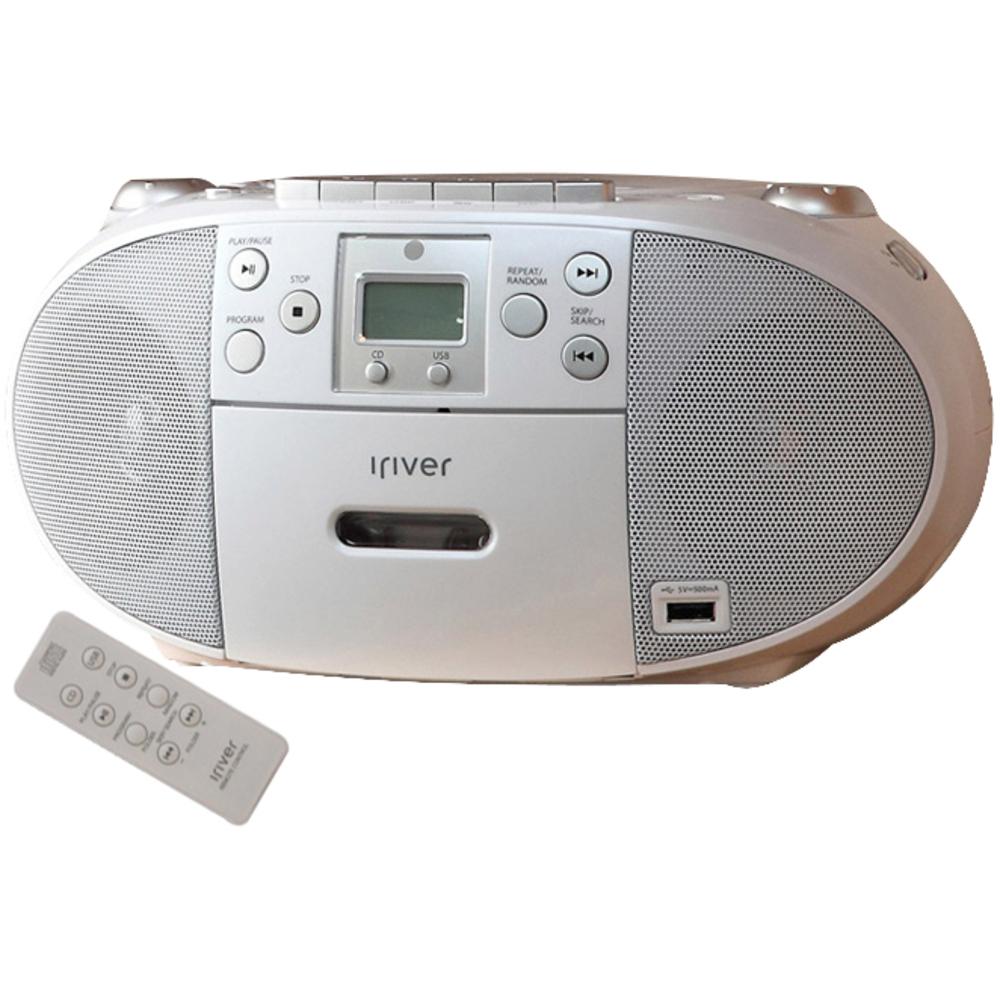 아이리버 미니 콤포넌트 오디오 플레이어 + 리모컨, IA65, White