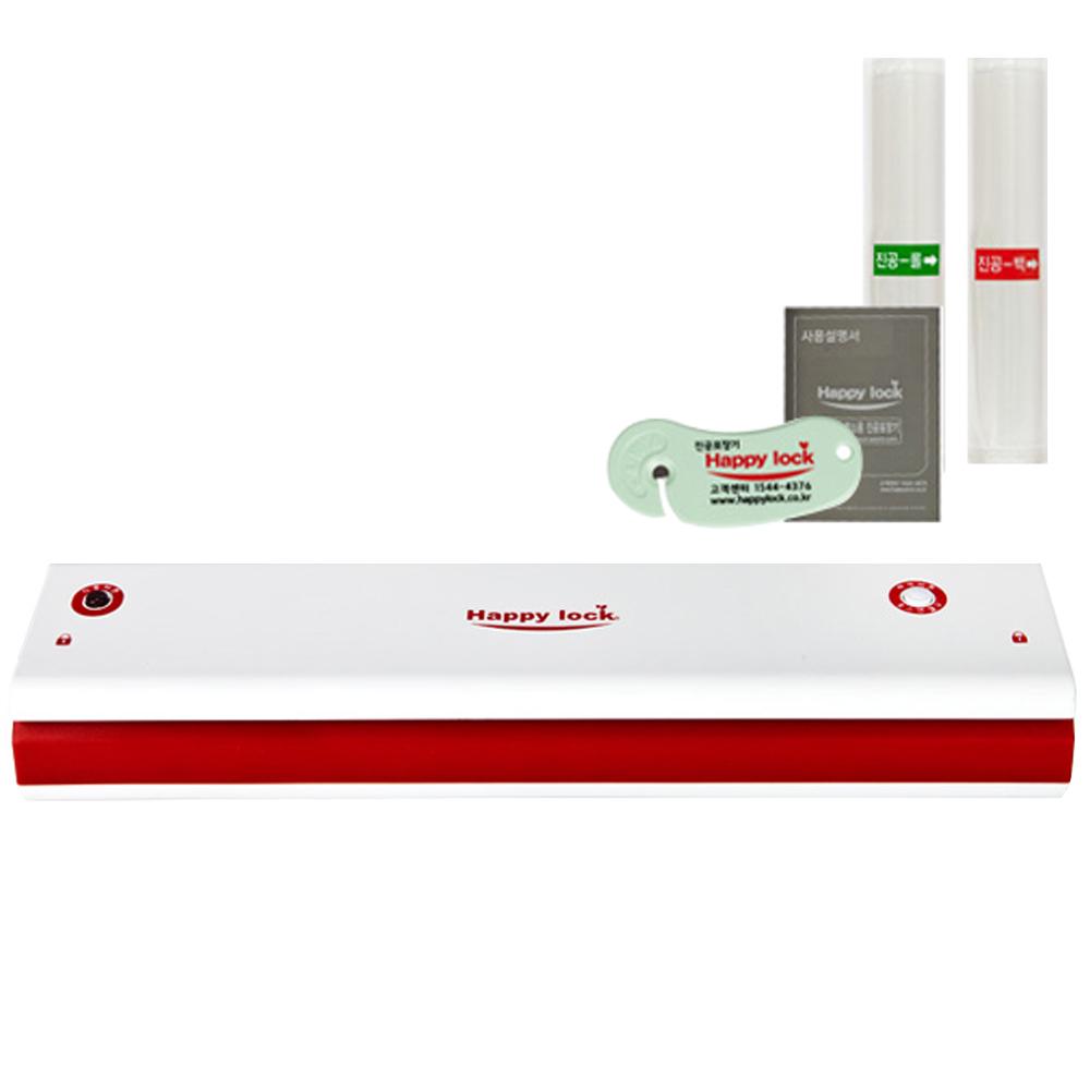 해피락 진공포장기 세트 AP3000, 본체 + 진공롤 중 + 진공백 중 + 전용커터기 + 설명서, 1세트