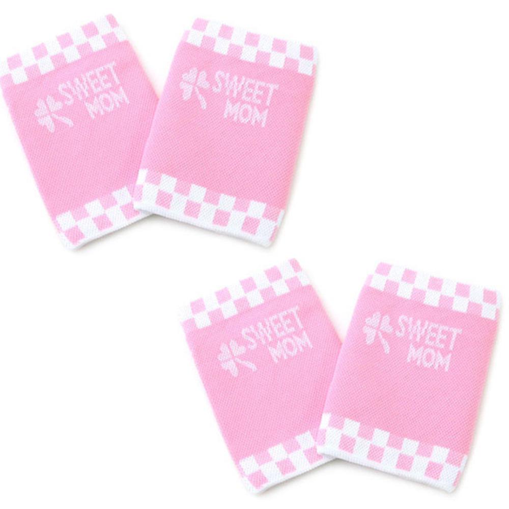 스윗맘 임산부 일반 손목보호대 4p, 핑크
