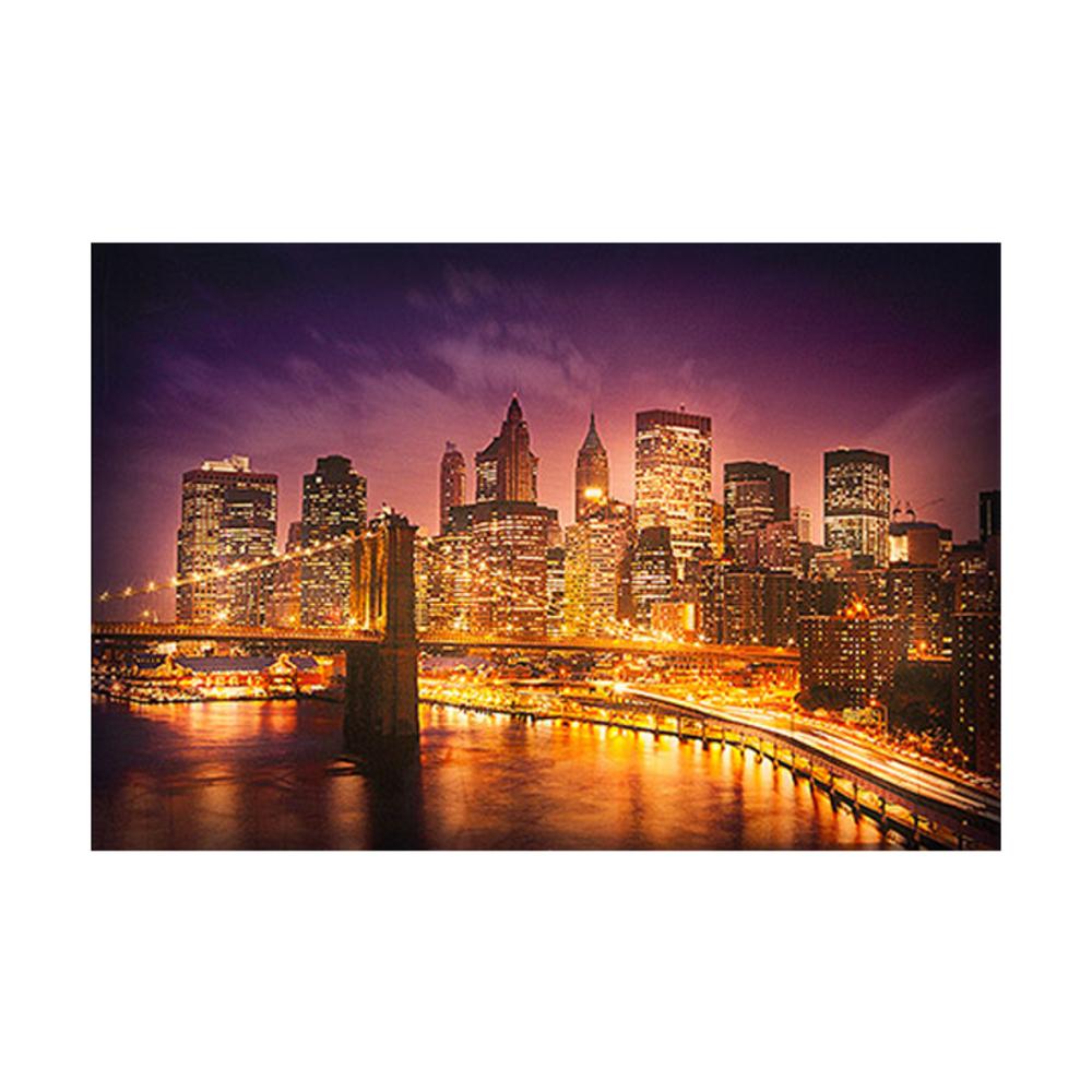 Night Pop 뉴욕의 야경 LED 캔버스 뷰