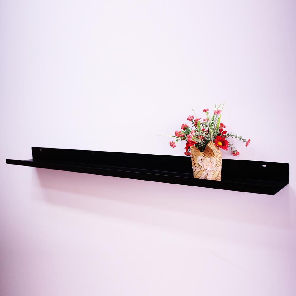 리노 스틸 벽선반 로드, IR06(블랙)