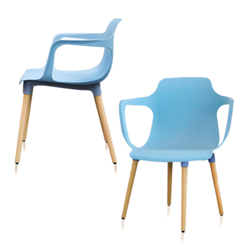 상도가구 미스터츄 의자 2p, 림펫 블루