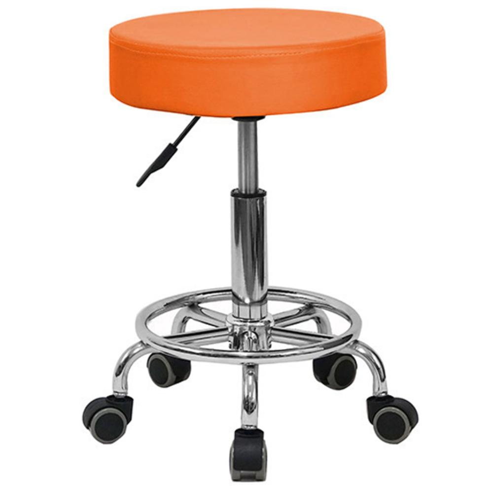 21세기트랜드 로라 등무 작업의자 009B, 오렌지