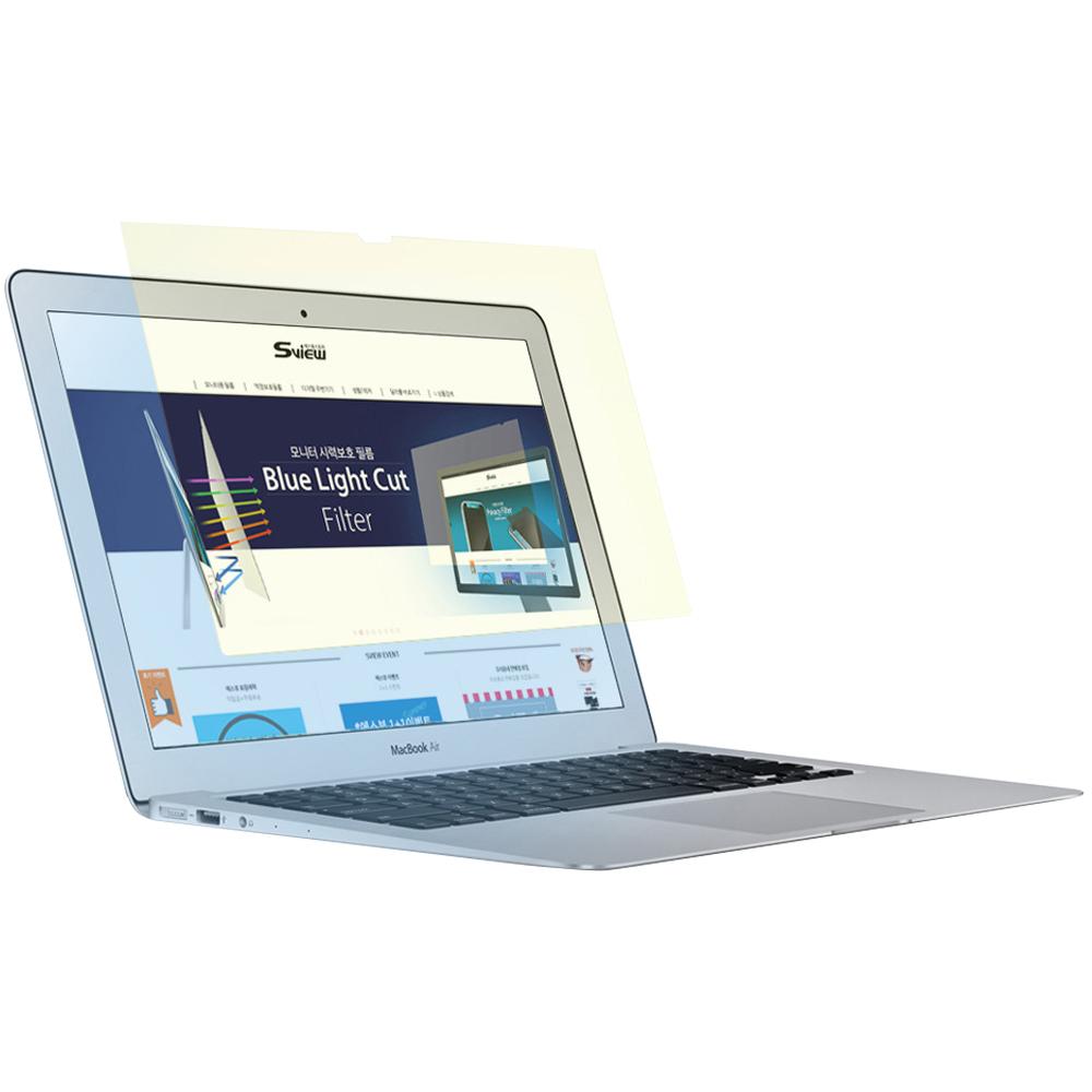 에스뷰 모니터 블루라이트 차단 필름 Macbook Pro 13인치 SBFAG-MP13, 1개