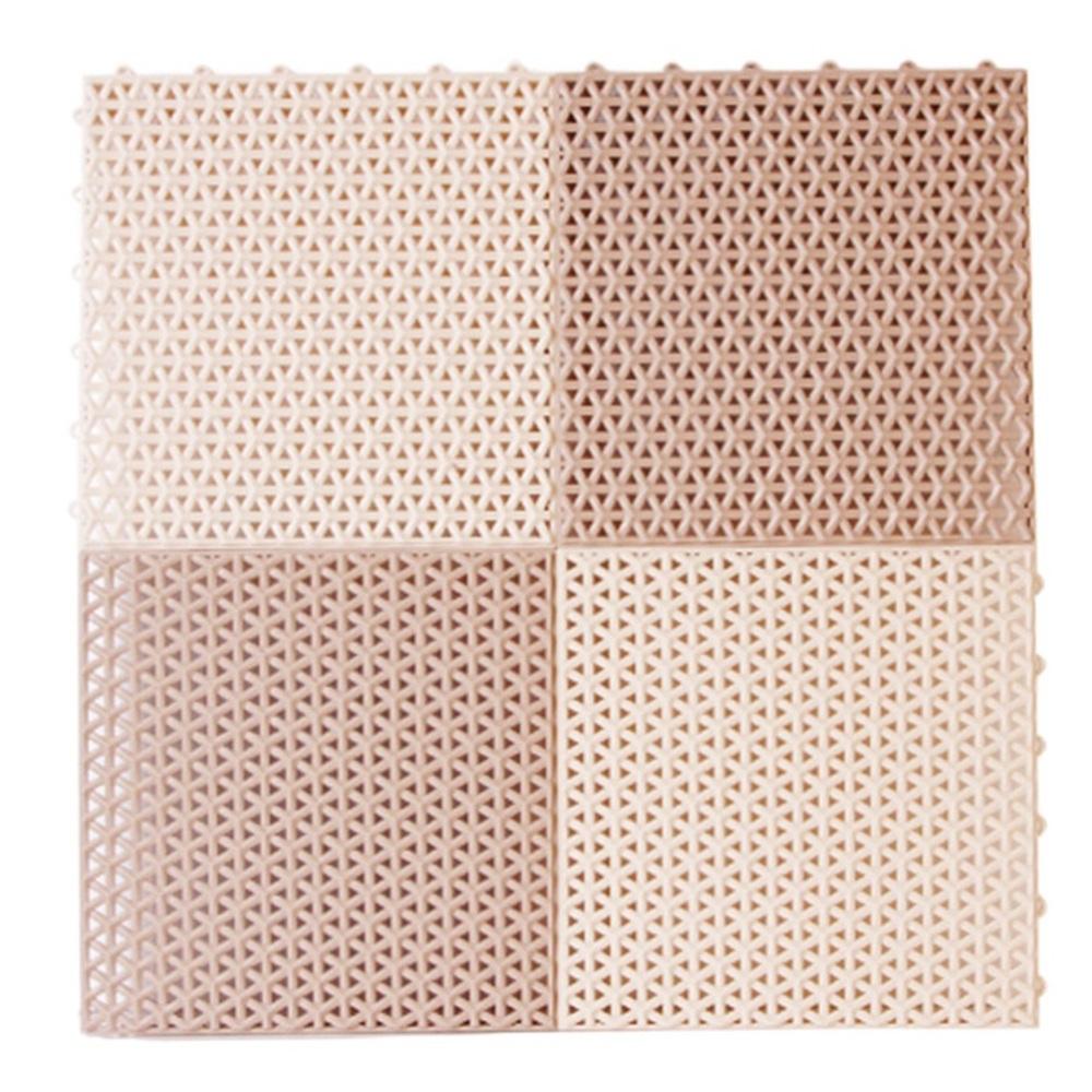 샤바스 벨리 조립매트 4p, 혼합 색상, 1세트