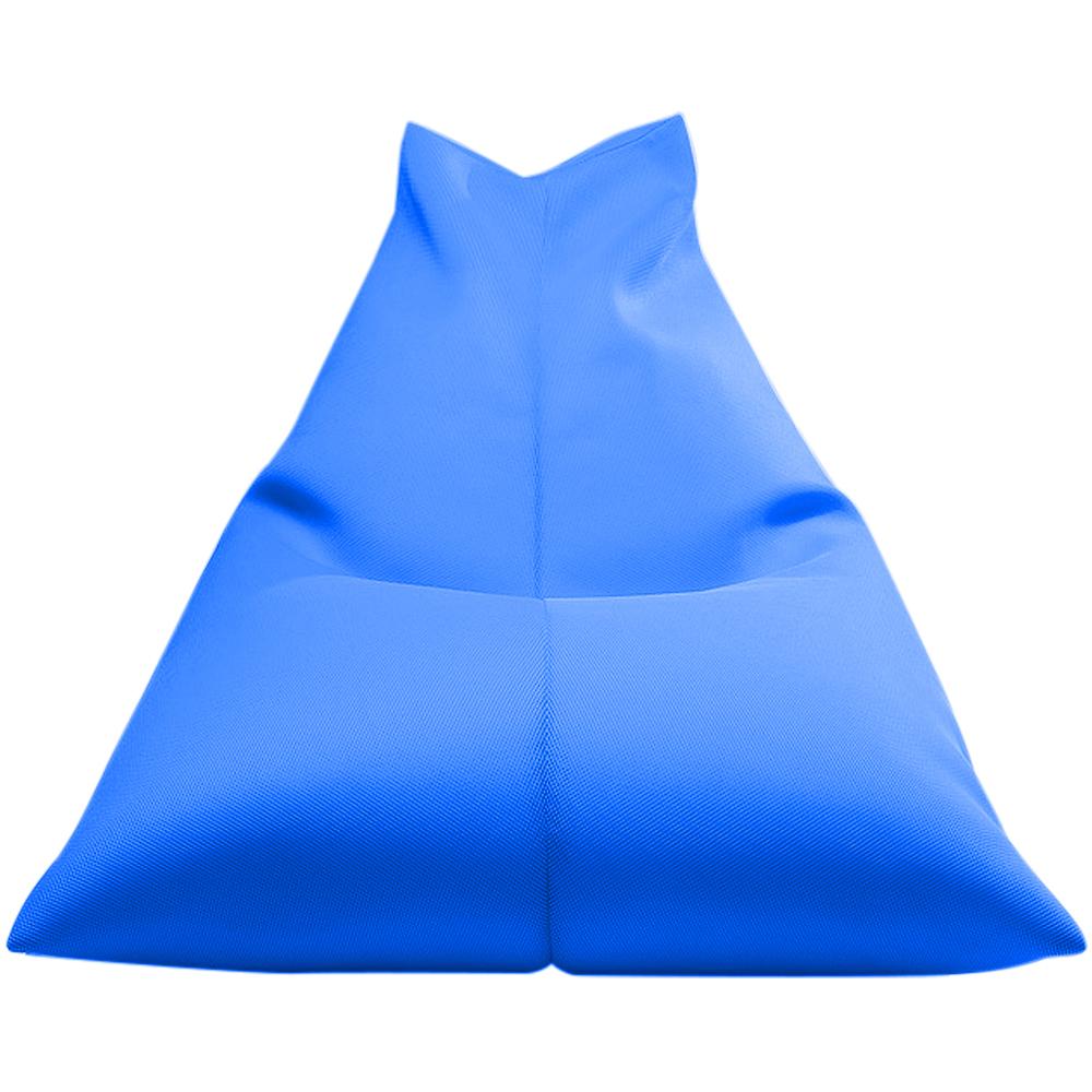 보니타 대형 빈백 파우치 에어메쉬 의자 P202, 블루