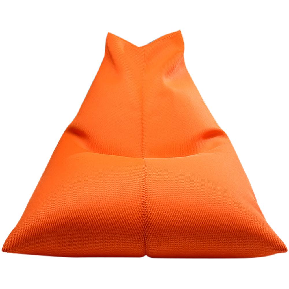보니타 대형 빈백 파우치 에어메쉬 의자 P202, 오렌지