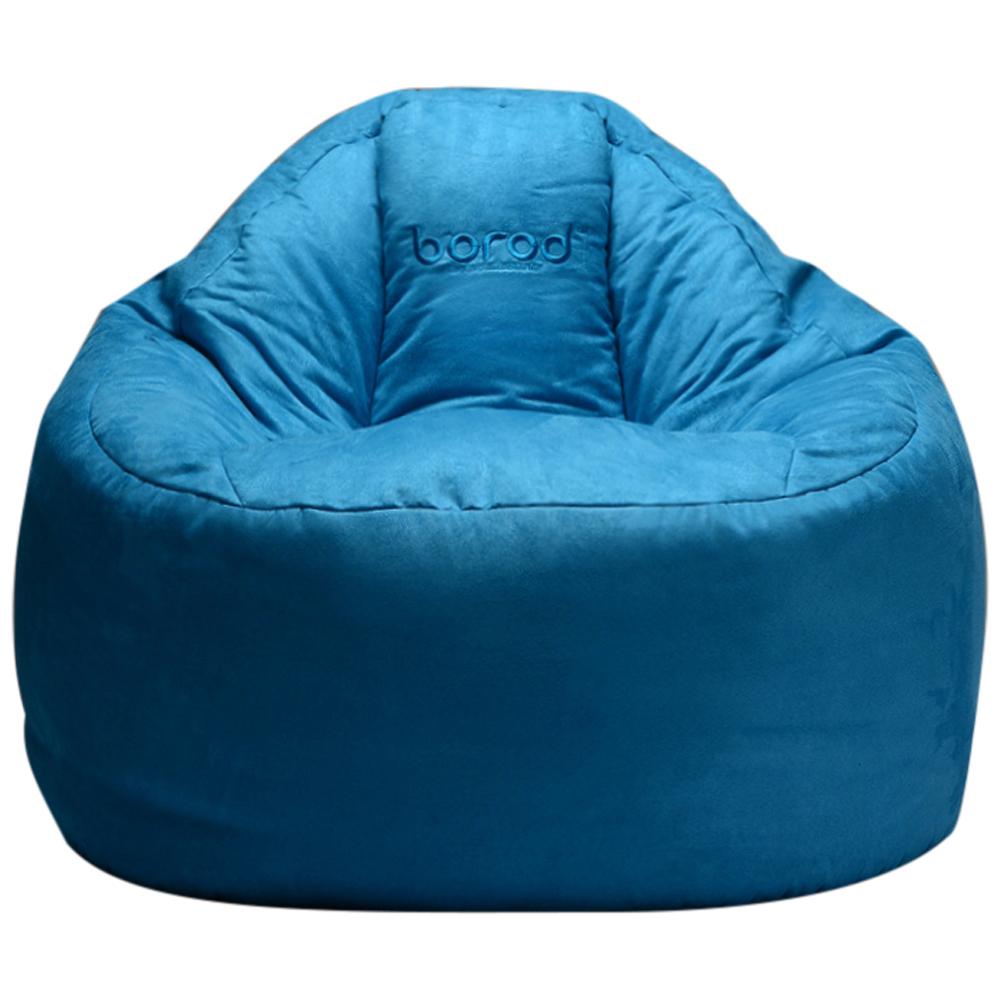 보니타 대형 빈백 블루밍 스웨이드 B807, 블루