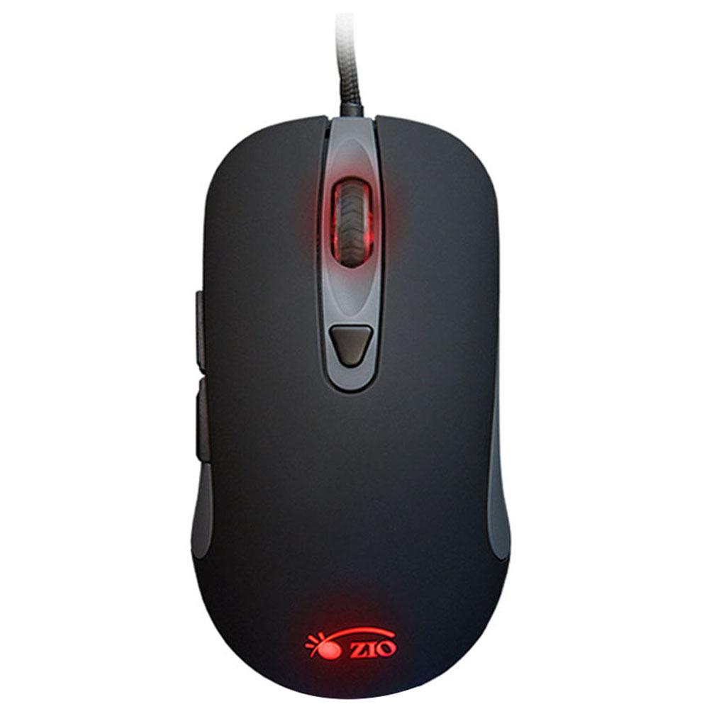 ZIO Z10 매크로 게이밍 마우스, 단일상품, 블랙