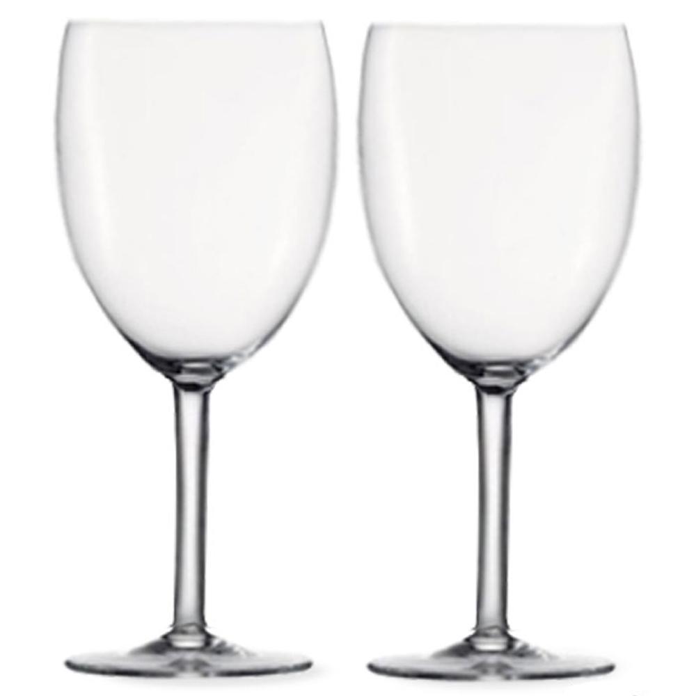 미르 PC 와인잔 300ml 투명, 2개입