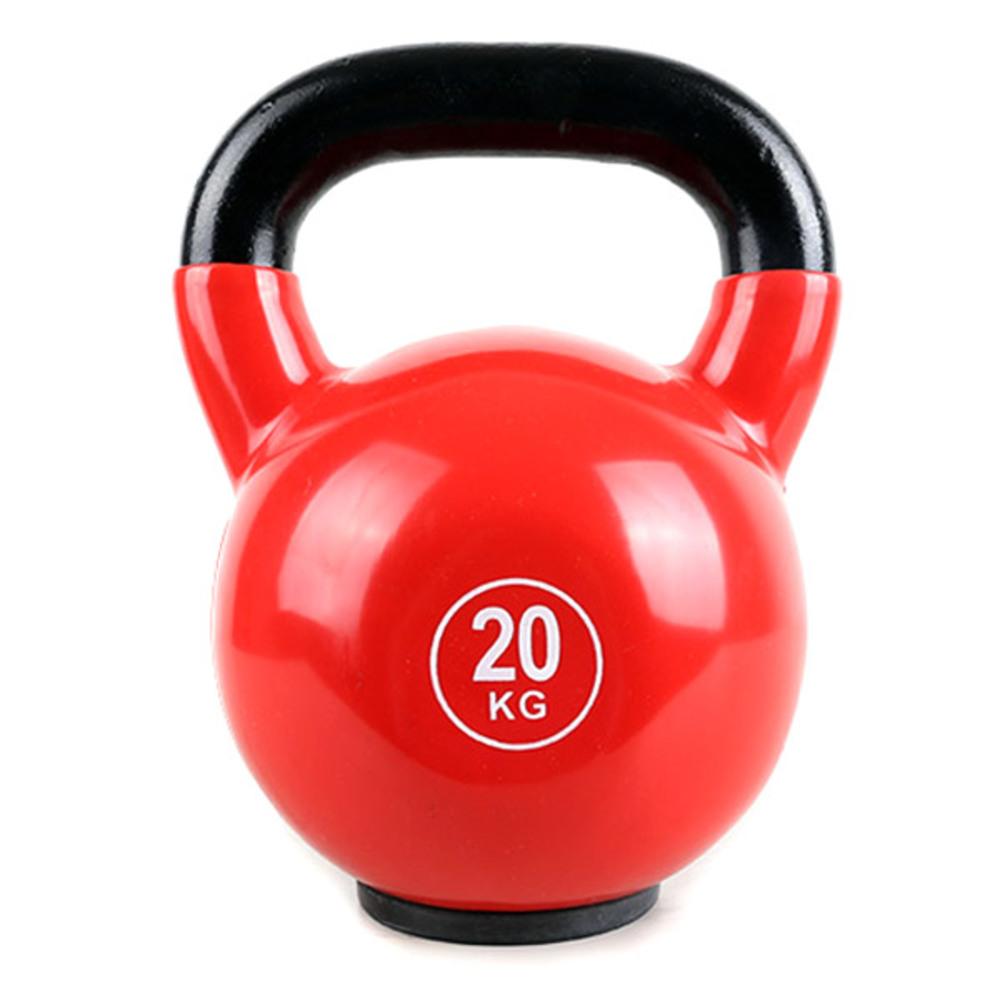 엑사이더 컽러 케틀벨 MD2201, 레드, 20kg
