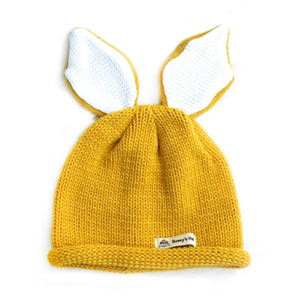 우주아이 유아용 바니바니 모자