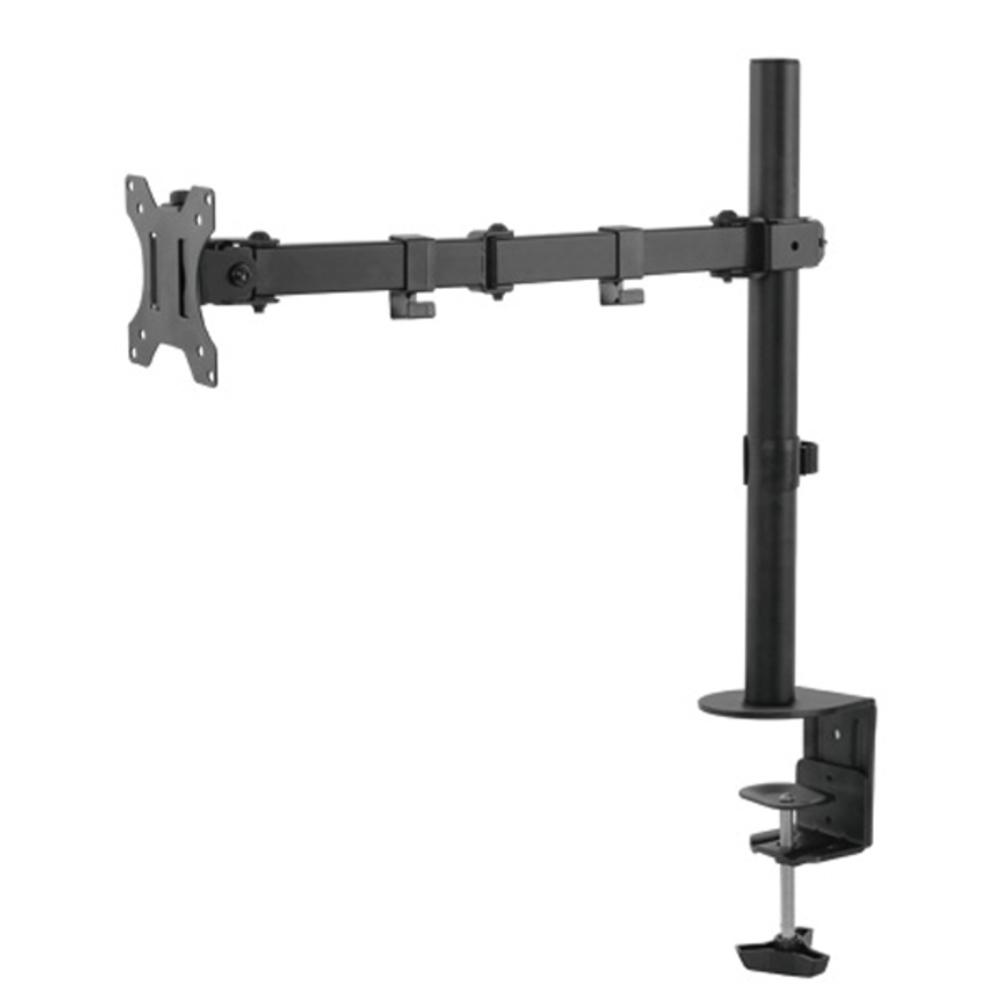 엔산마운트 책상용 TV모니터 거치대 LDT-C012, Black, 1개