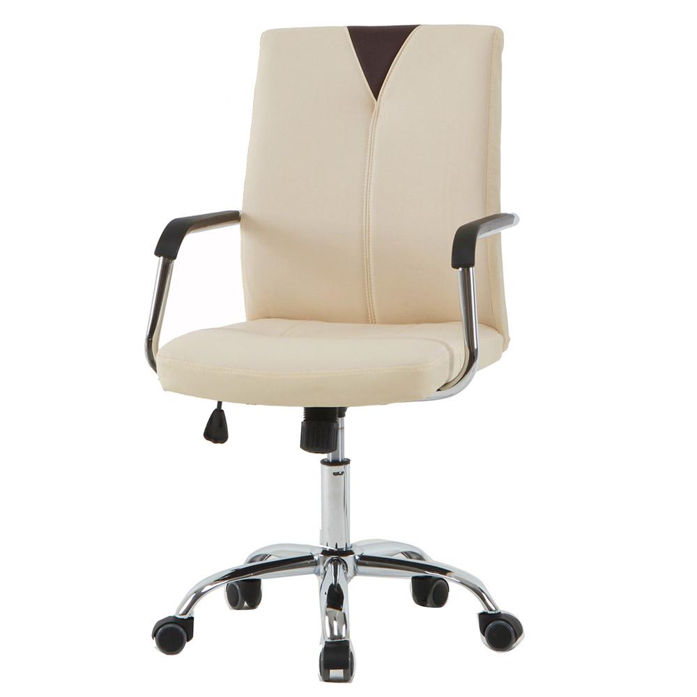 21세기트랜드 뉴 심플체어 사무용 의자, 아이보리