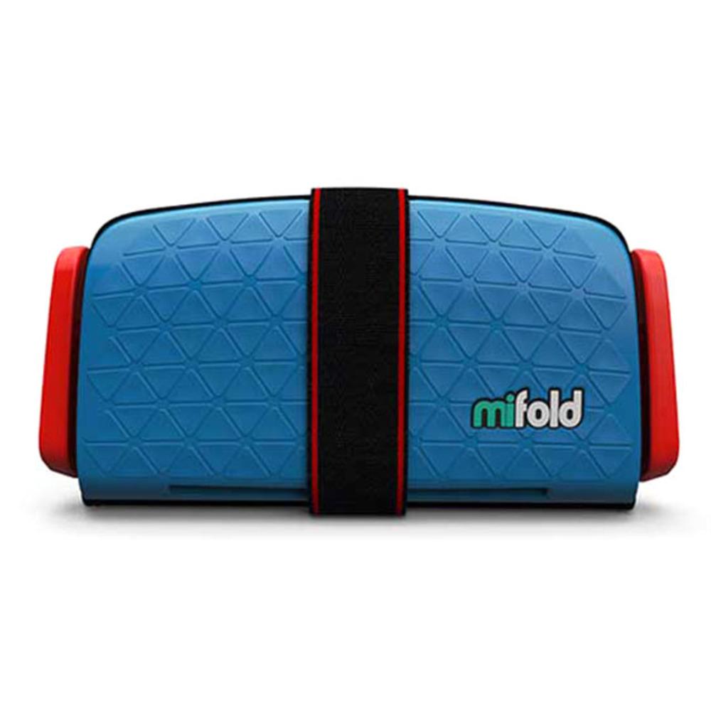 마이폴드 초소형 휴대용 카시트, Denim Blue