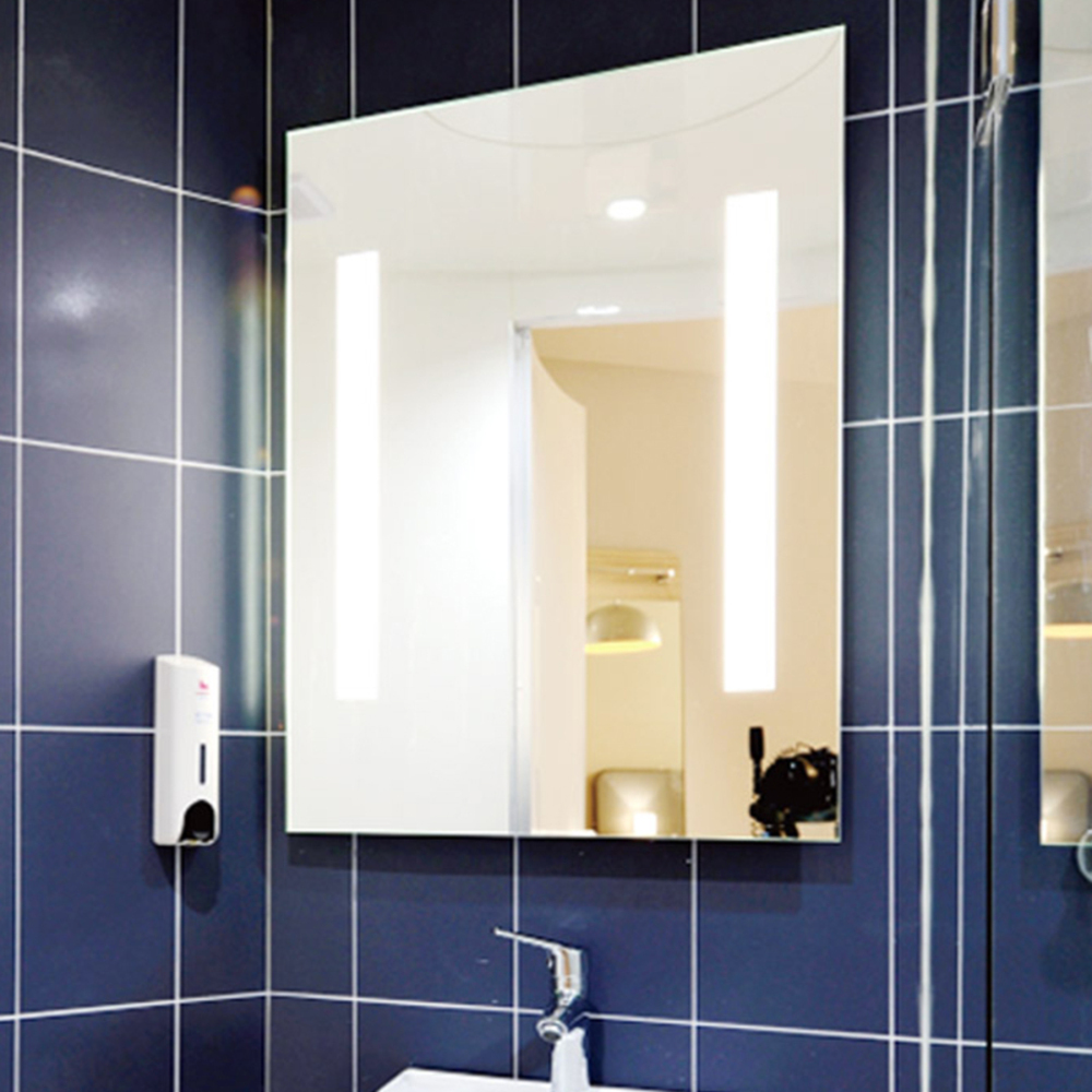 미소아이 맞춤용 벽거울 400 x 600 mm, 투명