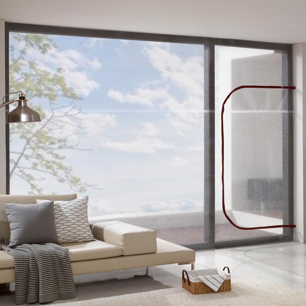 알뜨리 에어캡 방풍비닐 창문 베란다용 와인지퍼 대 350 x 250 cm + 양면테이프