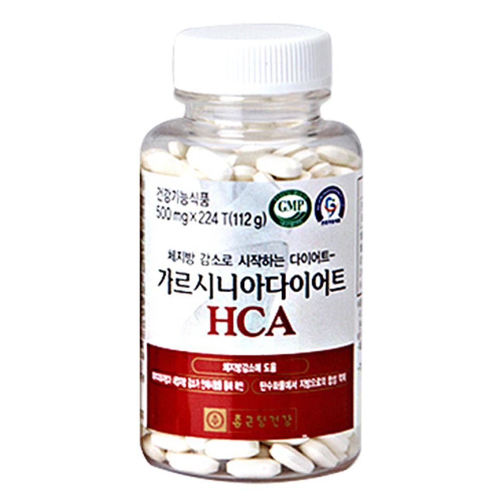 종근당건강 가르시니아 다이어트 HCA, 112g, 1개