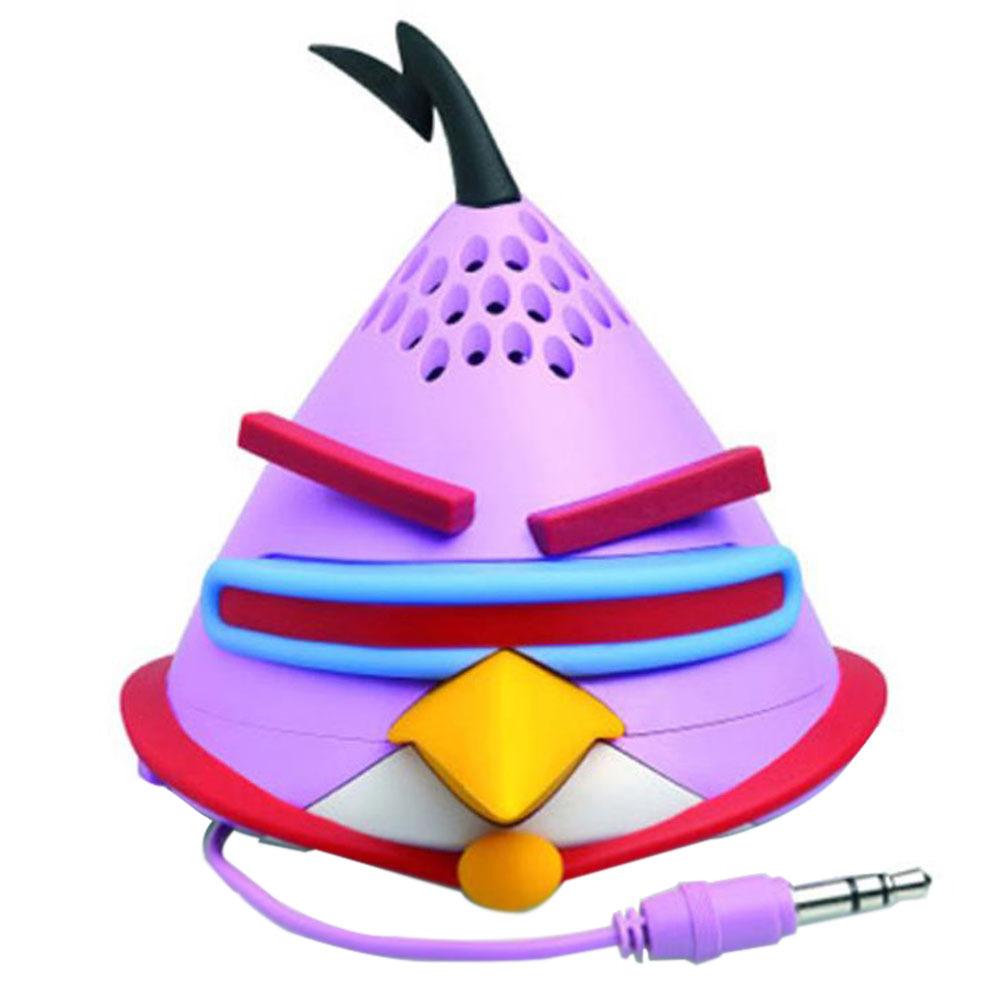 앵그리버드 GEAR4 미니 스피커 + 패브릭 파우치 + USB 충전 케이블, 단일 상품, SPACE LAZER BIRD