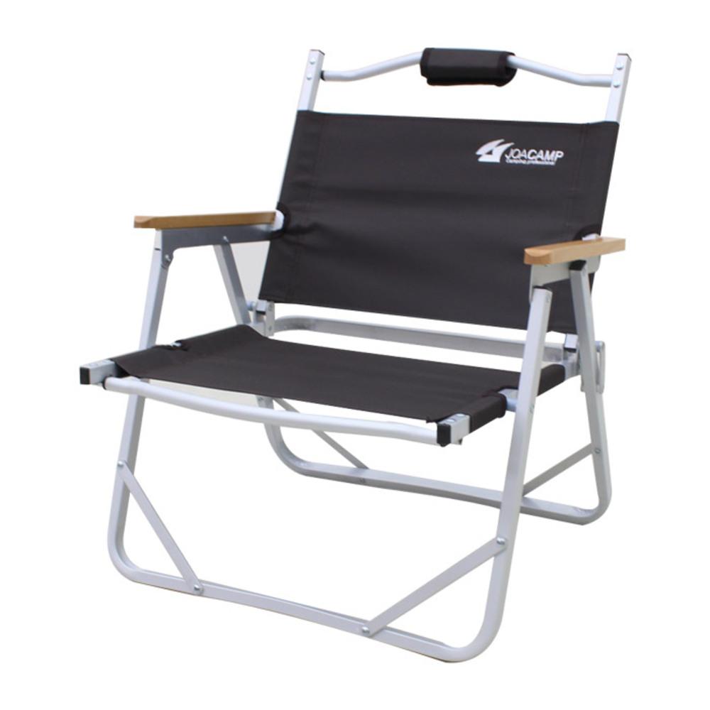 조아캠프 폴딩체어 대 캠핑의자, 브라운, 1개