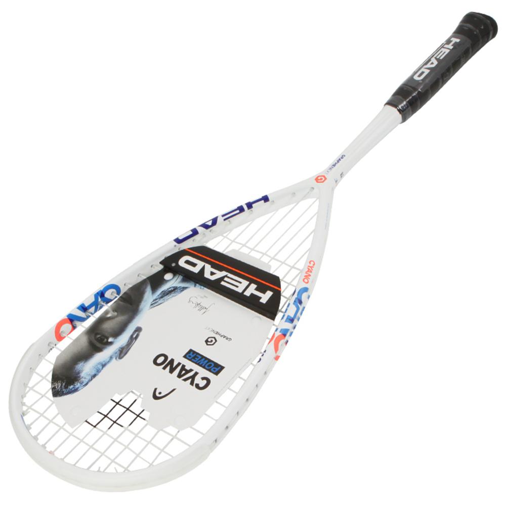 헤드 그라핀 XT 사이아노 110 스쿼시라켓, 화이트