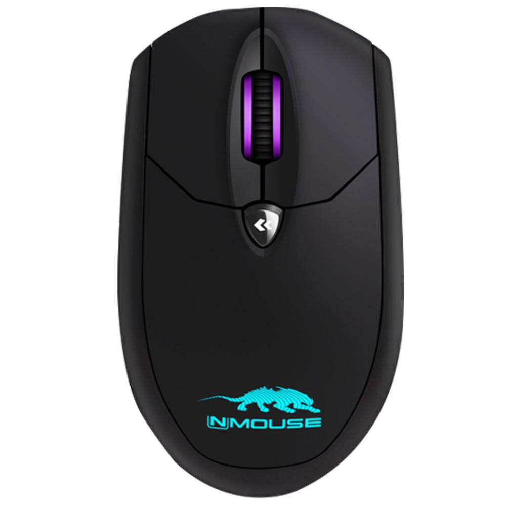 스카이디지탈 게이밍 마우스 NMOUSE 4K, 블랙