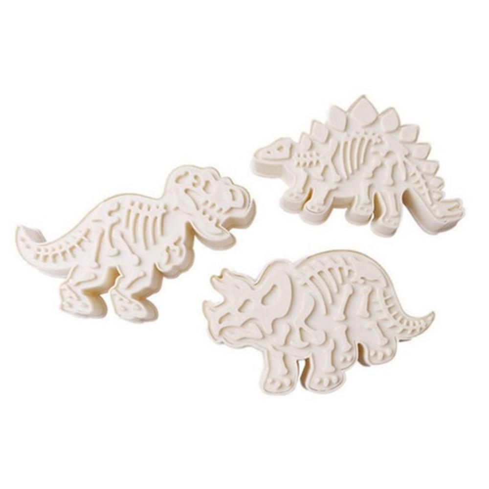 뼈공룡3종 쿠키커터세트, 랜덤 발송, 1세트