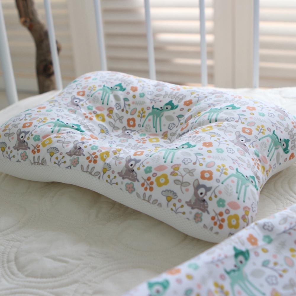 제이유니 유아용 일체형 베개 39 x 26 cm, 디어