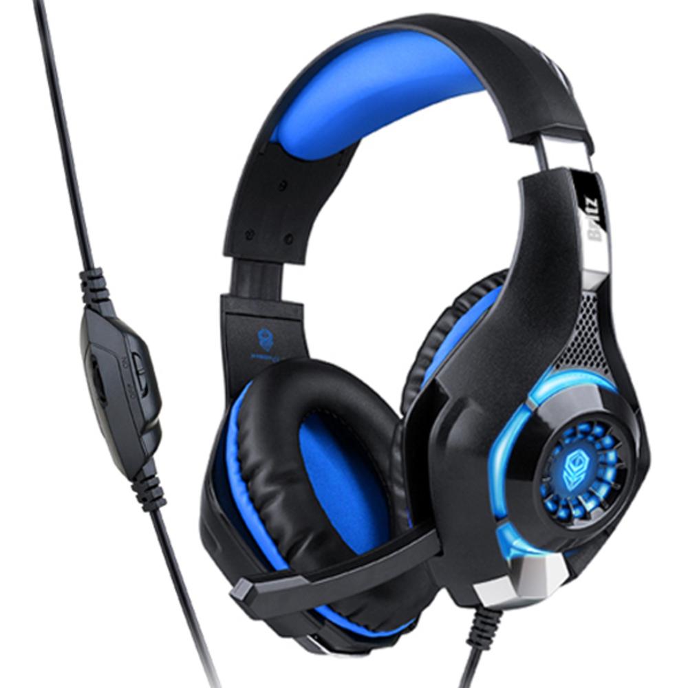 브리츠 게이밍헤드셋 K35GH, KG35GH, 블루