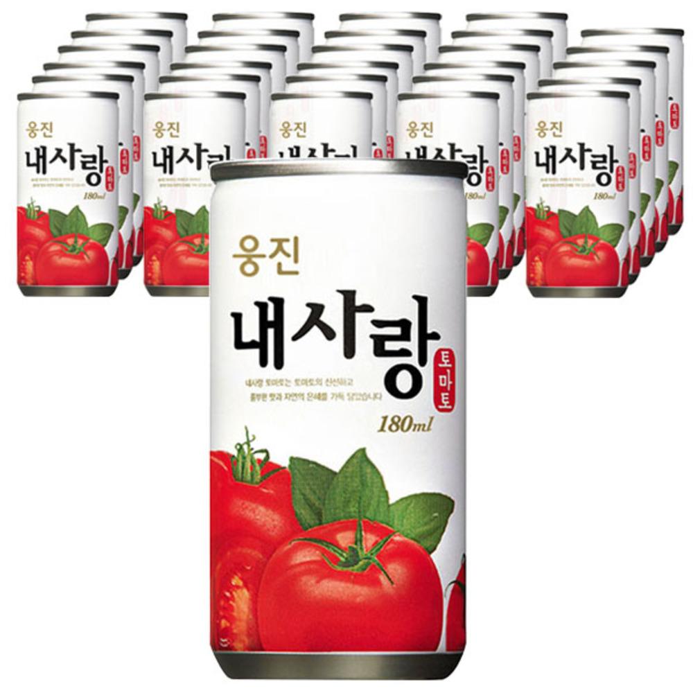 웅진식품 내사랑 토마토주스, 180ml, 30개입