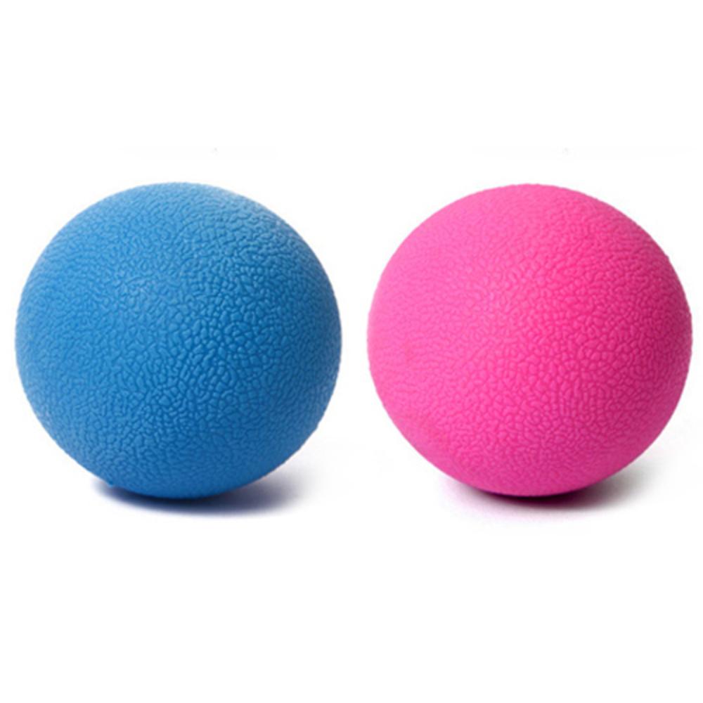 룸드 넌슬립 라크로스볼 마사지볼 2p, 핑크, 블루