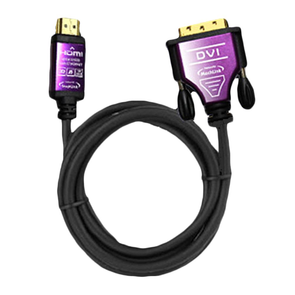 마하링크 HDMI to DVI-D Ver 1.4 프리미엄 케이블, HDMI-DVI(1.8m)