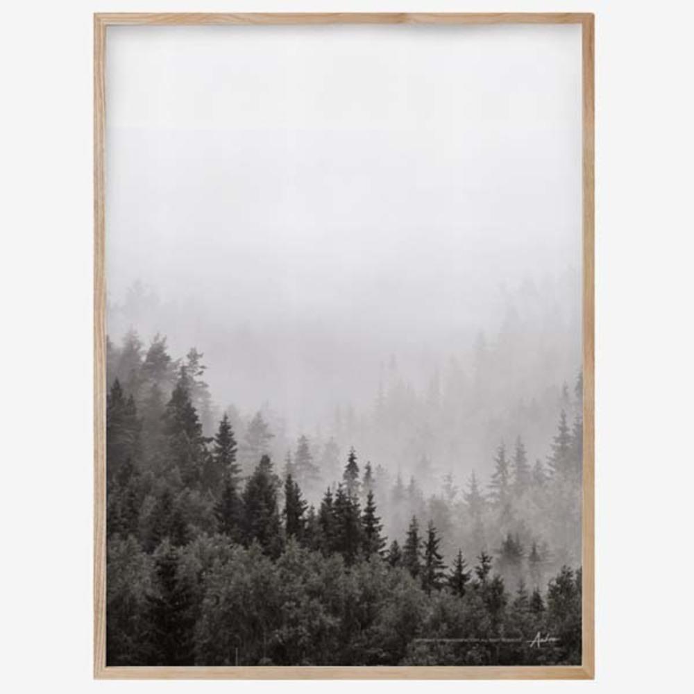 더가든팩토리 포레스트 타입01 원목액자, Wood