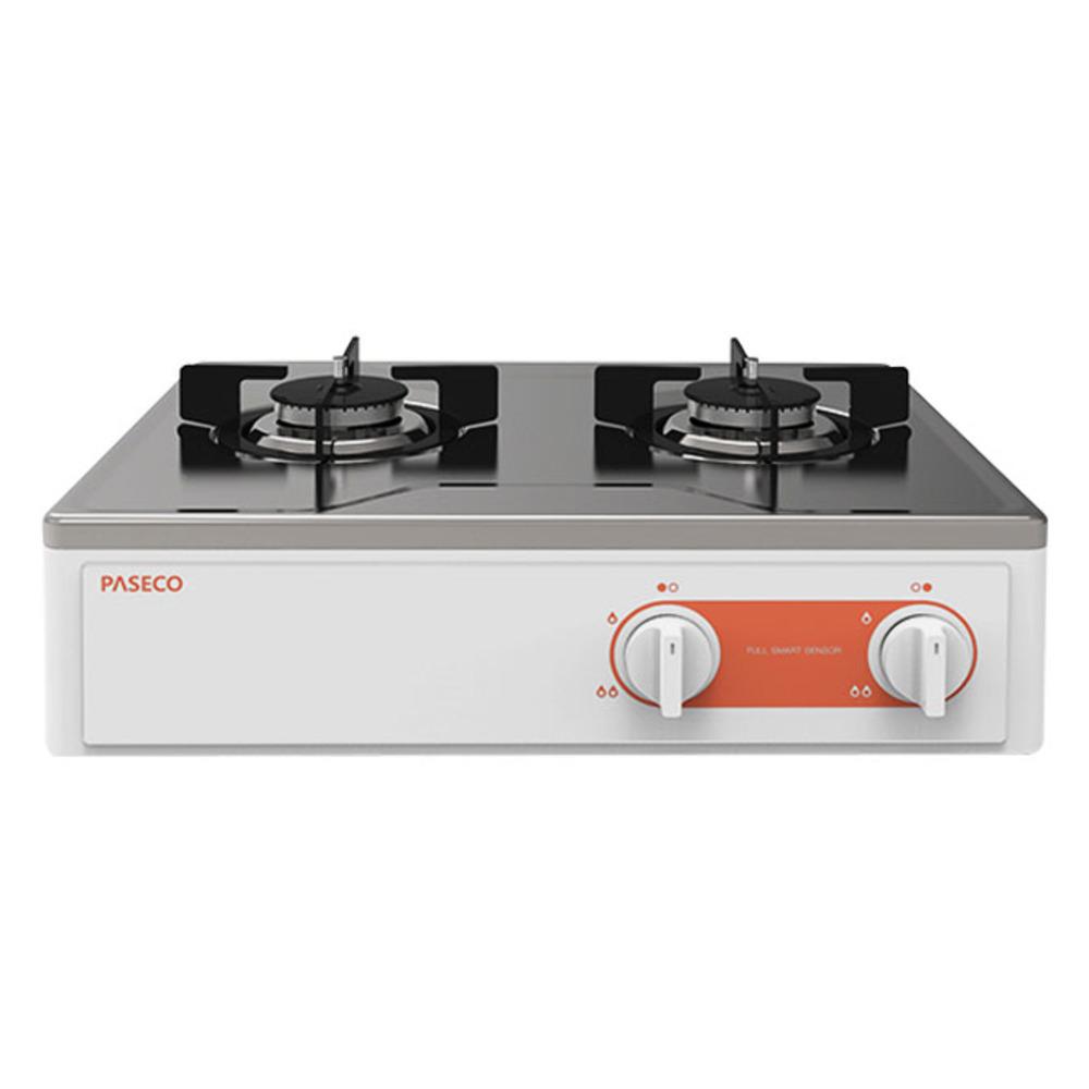 파세코 가스레인지 2구 자가설치 화이트실버, PGR-F203S, LNG