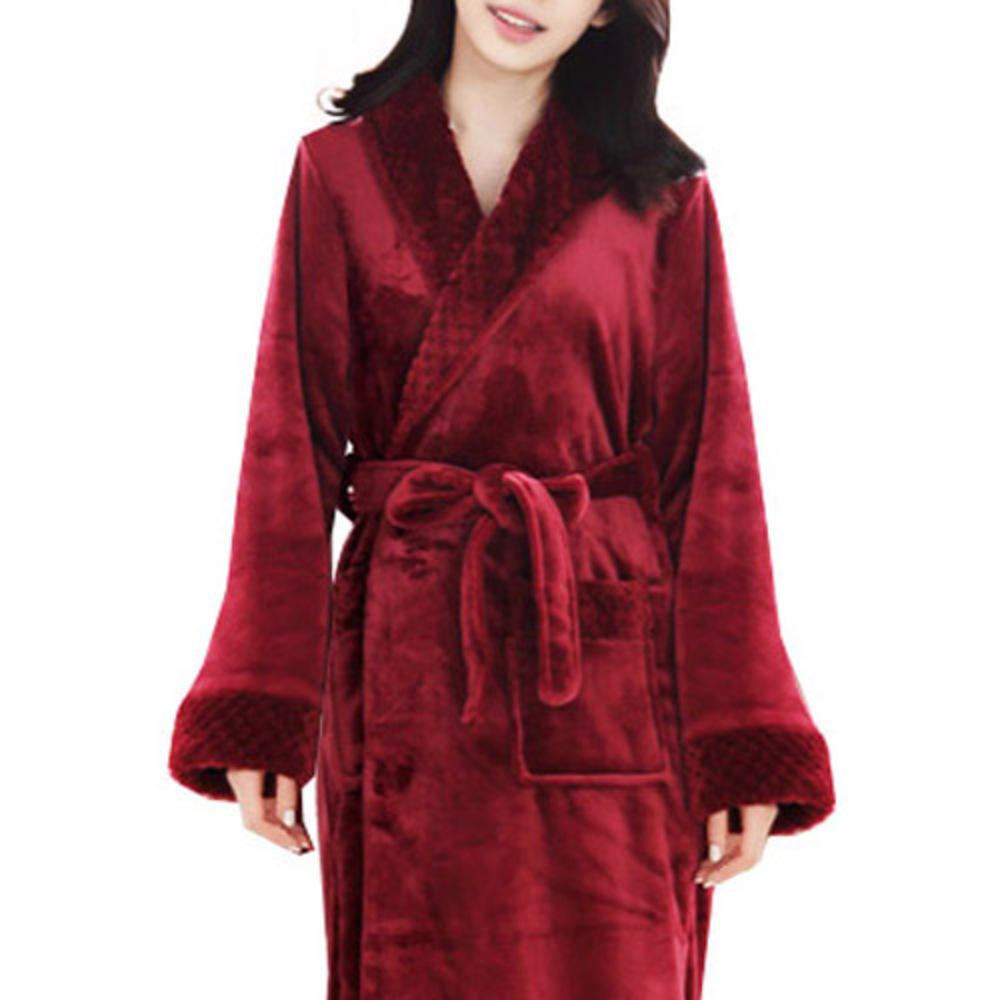 더자카 로열 스위트 샤워가운 여성용 M, Y230LBBI019, 1개