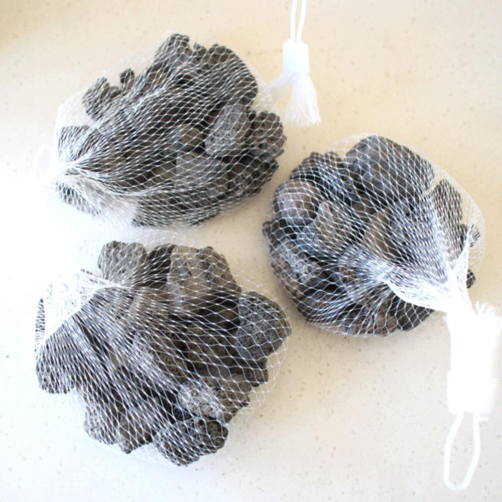 모리앤 흑색소자 데코화산석, 3개입