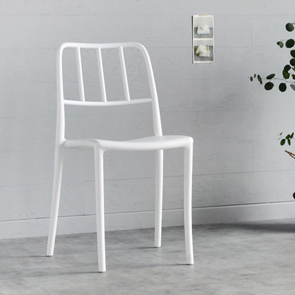 마켓비 SEROS 인테리어의자, 화이트