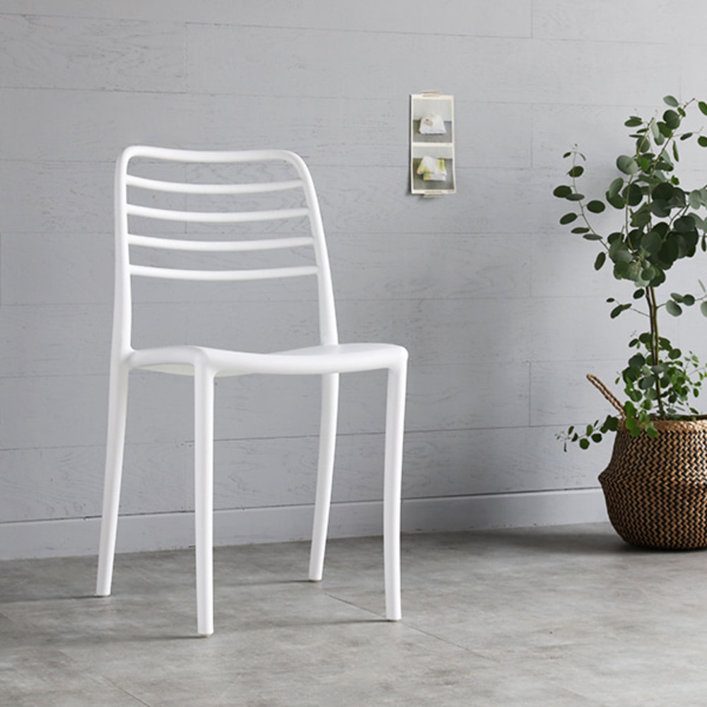 마켓비 GAROS 인테리어의자, 화이트