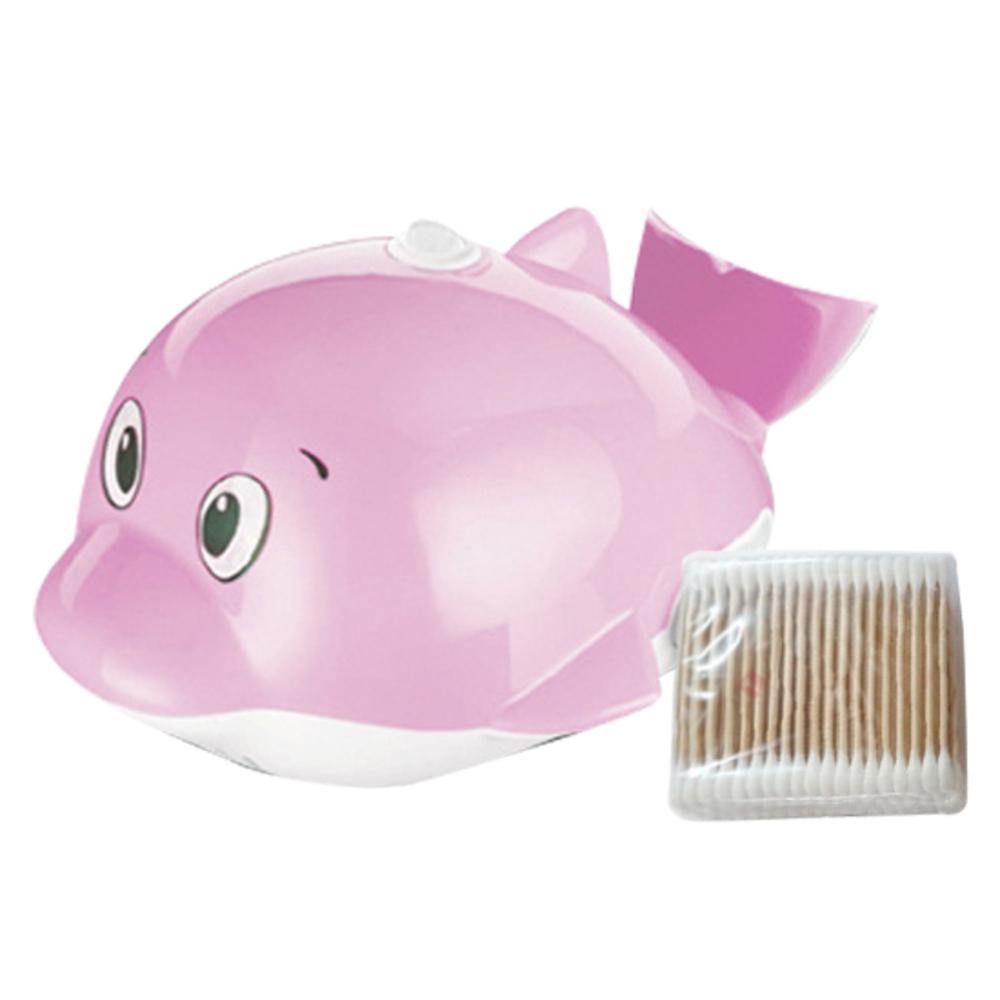 베이비벨르 다기능 네블라이저 미니돌핀 핑크 + 면봉 100p, 1세트