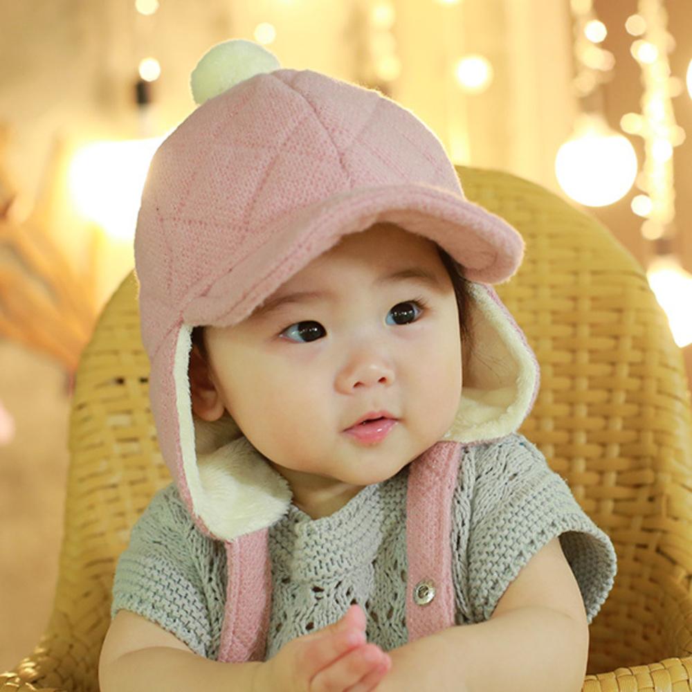 무슈 유아용 포그니 방한모