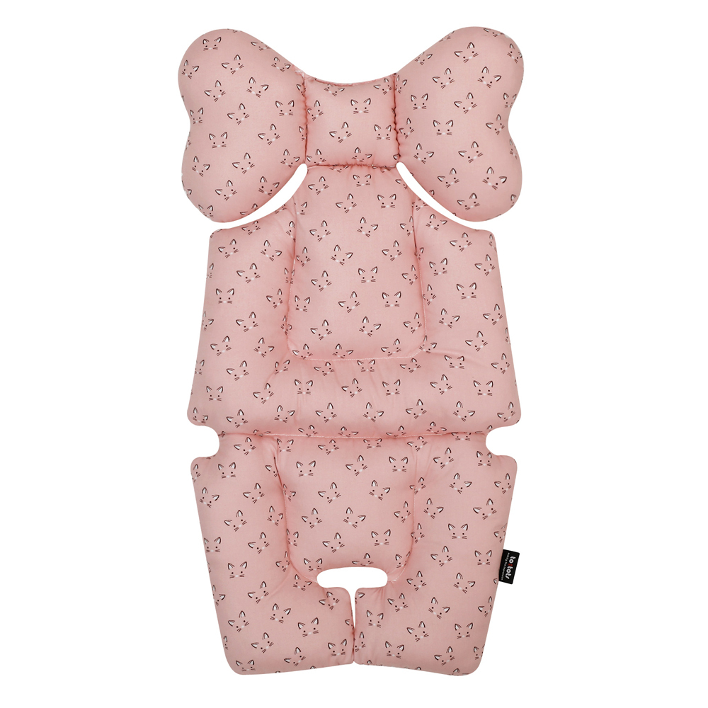 투토츠 에어라이너 유모차시트, 큐티캣 핑크