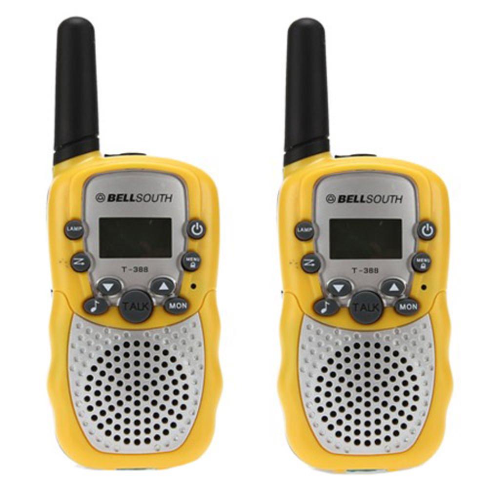 쵸미앤세븐 생활무전기 walkie-talkie 2p, walkie-talkie(옐로우)