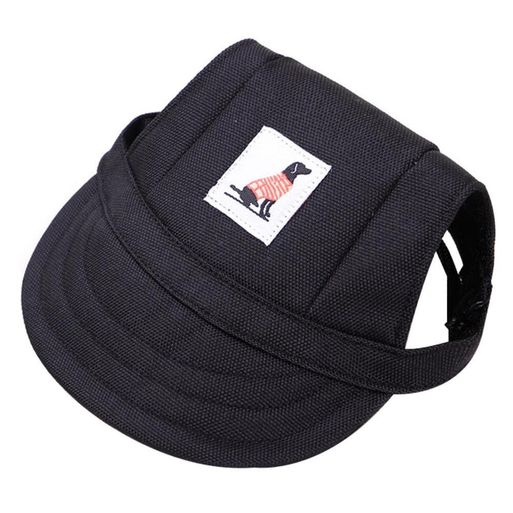 댕댕이샵 반려동물 악세서리 모자, 블랙