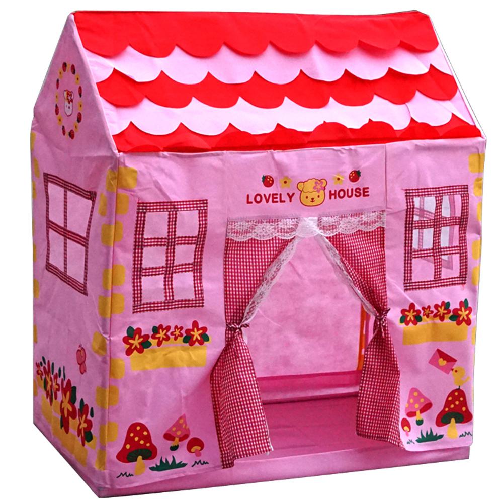 토이앙상블 또래 하우스 놀이텐트, 혼합 색상