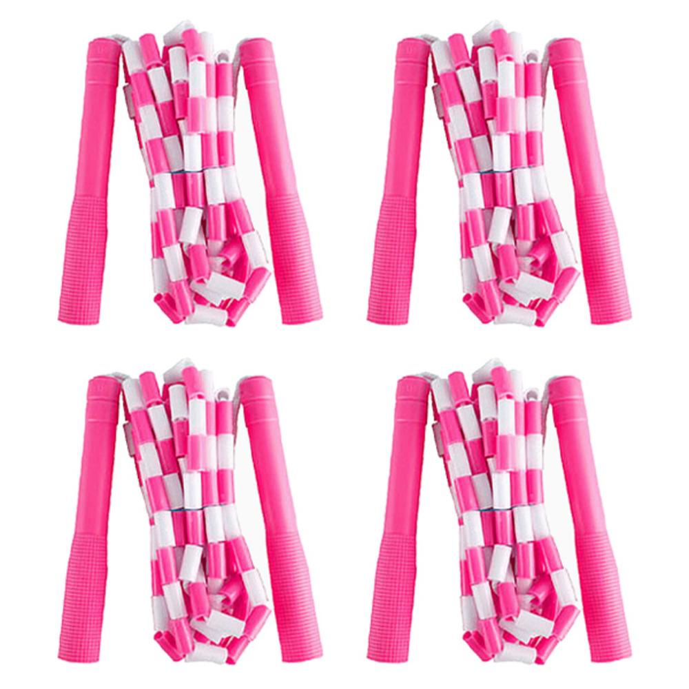 엑스피디 투톤구슬 줄넘기 208 4p, 핑크