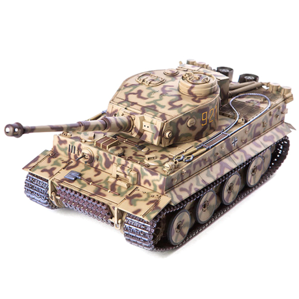아카데미과학 독일 타이거 1 초기형 성채작전 프라모델 탱크13509, 1개