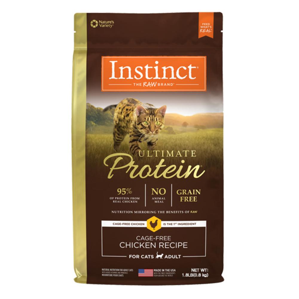 인스팅트 생식본능 얼티밋 프로틴 치킨 캣 키블 고양이 건식사료, 800g, 1개