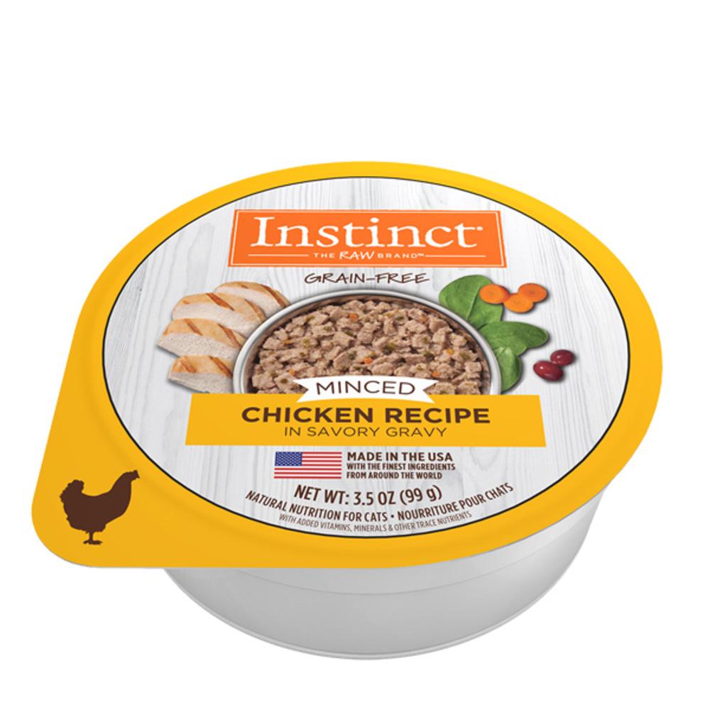 인스팅트 생식본능 캣 민스 치킨 컵 레시피 고양이 간식, 99g, 1개