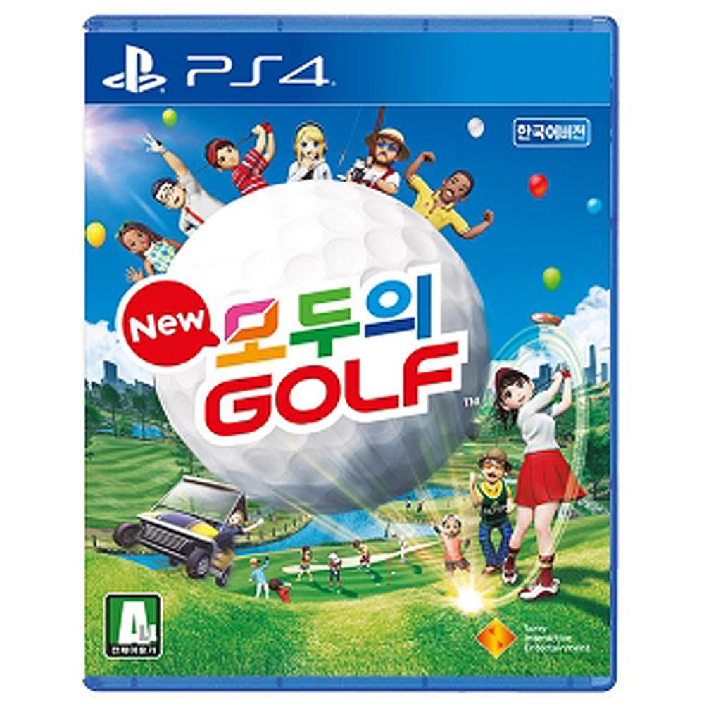 PS4 new 모두의 골프 한글판, 단일 상품